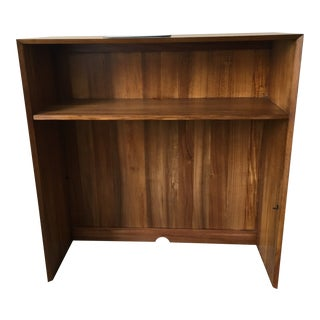 Mid-Century Modern West Elm Wide Acorn Hutch For Sale