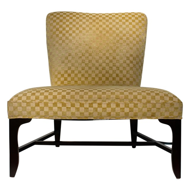 Vintage Slipper Chair & Ottoman by Barbara Barry - Image 4 of 7