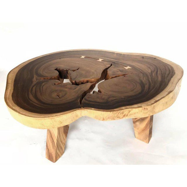 Free-Form Wood Coffee Table For Sale - Image 10 of 10