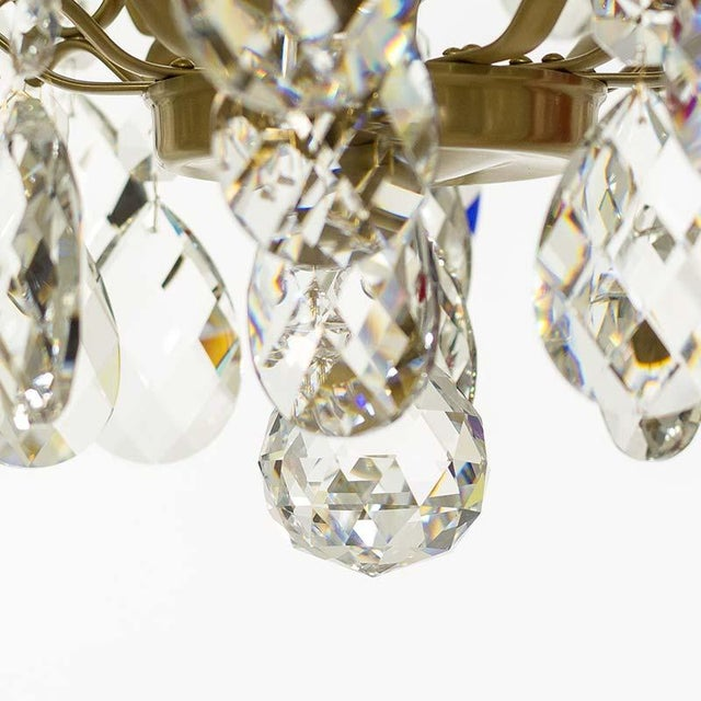 Baroque Six-Light Chandelier For Sale In Greensboro - Image 6 of 11