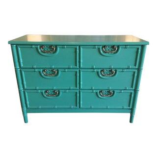 Vintage Bassett High-Gloss Lacquer Dresser