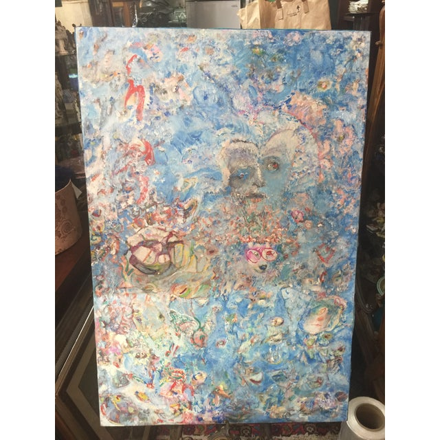 Richard Royce Oil Painting Out of the Ether II For Sale In San Francisco - Image 6 of 6