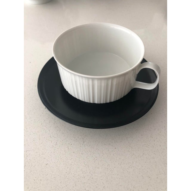 Rosenthal Studio Line Porcelaine Noire by Tapio Wirkala .Excellent Condition. Mid Century rarely used. This is an...