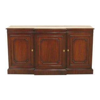 Kindel 3 Door Oxford Mahogany Console Cabinet For Sale