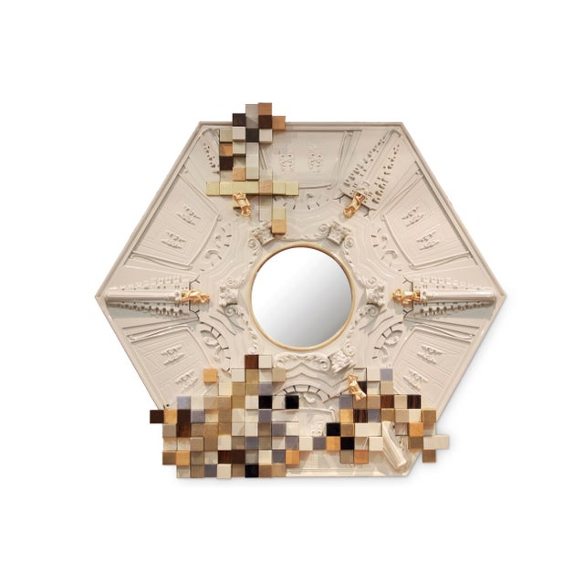 PIccadilly Mirror From Covet Paris For Sale - Image 4 of 4