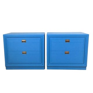 Bernhardt Nightstand/Side Tables - A Pair For Sale