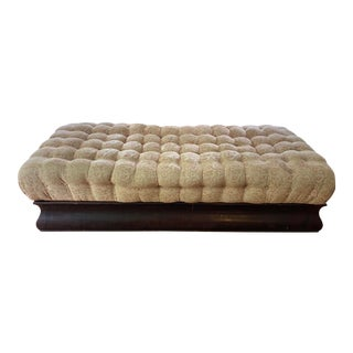 Antique Empire Era Tufted Daybed Chaise With Storage For Sale