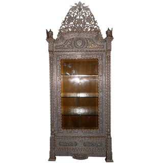 Exquisite Handmade Armoire For Sale