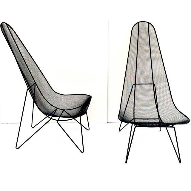 Pair of Sol Bloom Scoop Chairs - Image 2 of 10