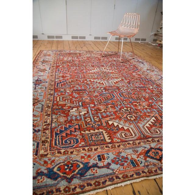 "Vintage Heriz Carpet - 6'11"" X 9'7"" - Image 6 of 8"