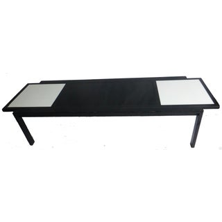 MCM Widdicomb Glass Tile Topped Coffee Table For Sale