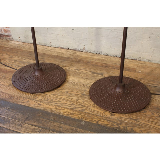 Factory Tumbler Industrial Prototype Floor Lamps For Sale - Image 11 of 12