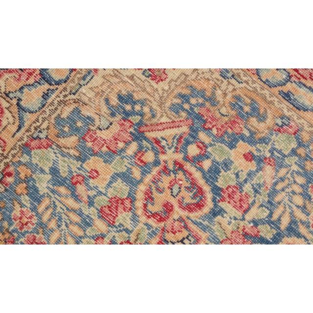 """Vintage Persian Lavar Kerman Rug - 4'8"""" x 7'5"""" For Sale - Image 4 of 4"""