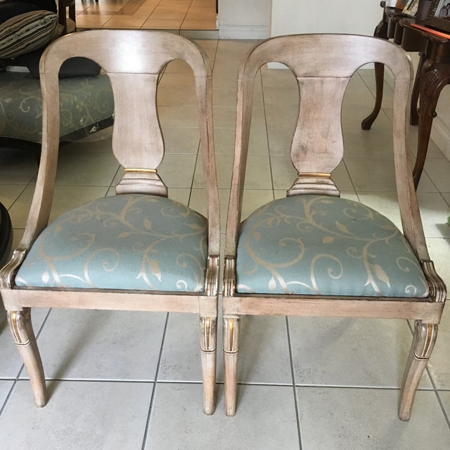 Acquired in the 1990s, these chairs have served as a wonderful piece in our library. Simple, comfy, and useable, these two...