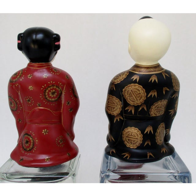 Porcelain Shelf-Sitters, a Pair - Image 7 of 8