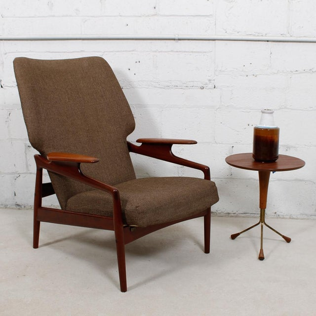 Finn Juhl Reclining Wingback Chair For Sale - Image 10 of 10