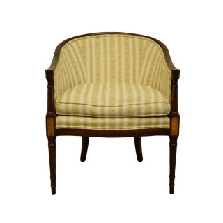 Hickory Chair Co. Italian Provincial Accent Club Chair For Sale