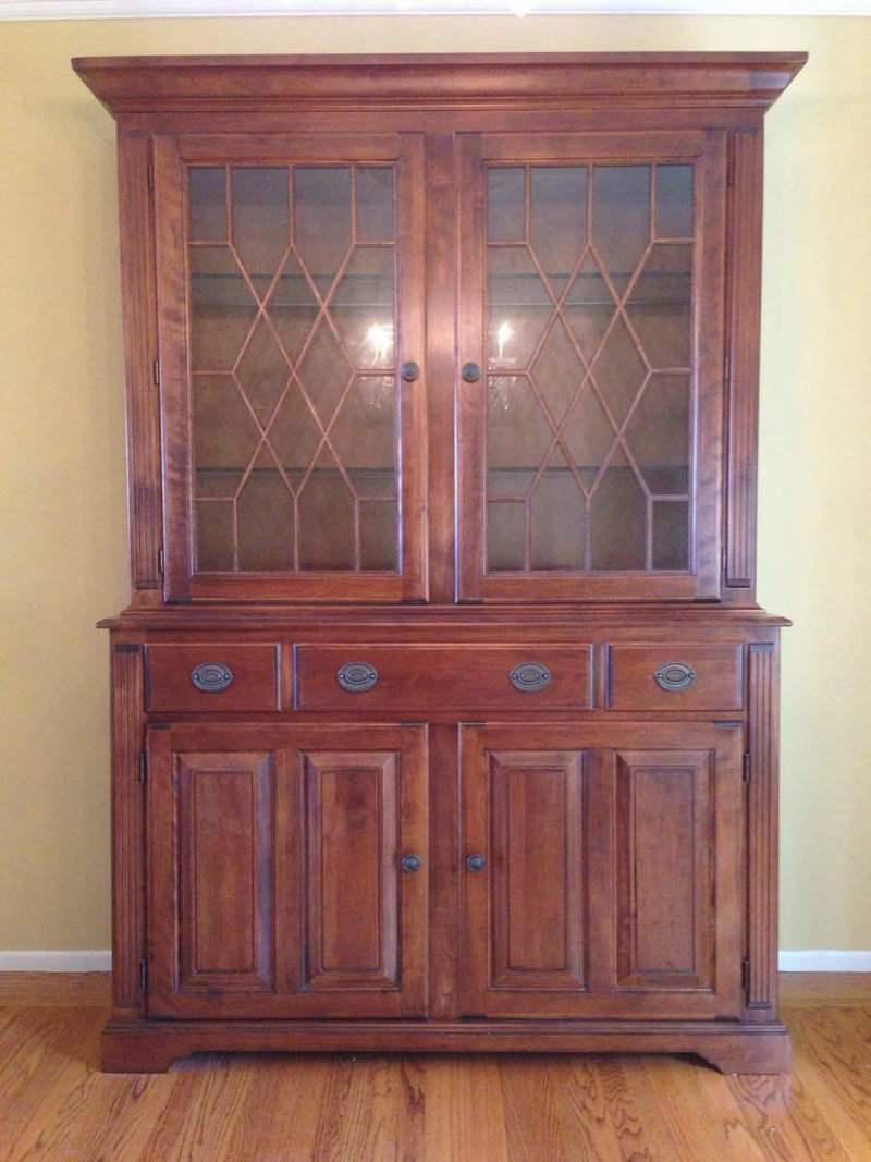 Nichols U0026 Stone Carved Contemporary China Cabinet   Image 2 Of 11