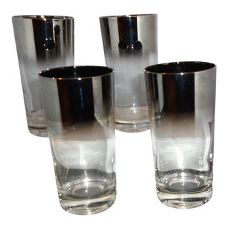 Platinum Fade Cocktail Glasses - Set of 4