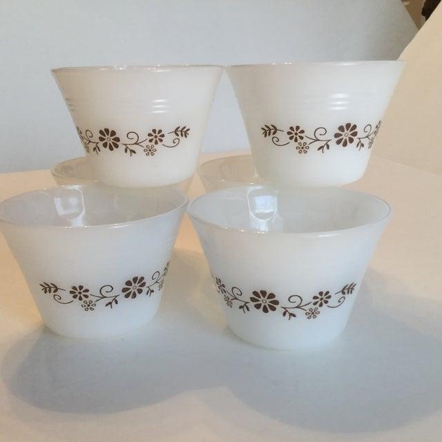 Milk Glass Custard Cups - Set of 6 - Image 9 of 10