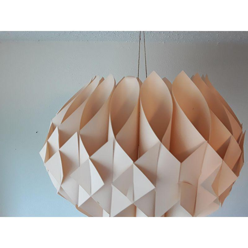 Origami Le le klint honeycomb origami pendant light chairish