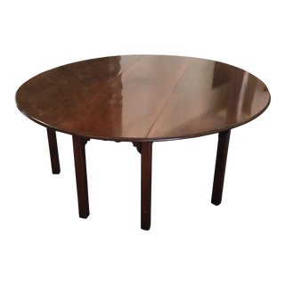 19th Century Mahogany Dining Table For Sale