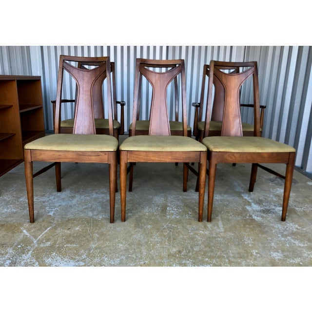 Mid-Century Modern Mid Century Modern Kent Coffey Dining Chairs-Set of 6 For Sale - Image 3 of 10