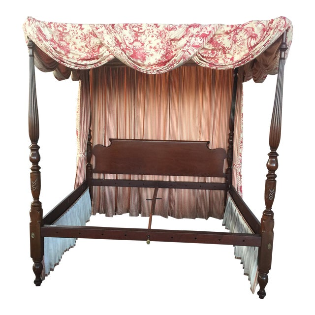 Leonard's Four Poster Bed King Size For Sale