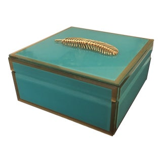 Transitional Decorative Box For Sale