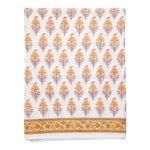 Juhi Flower Fitted Sheet, King - Yellow