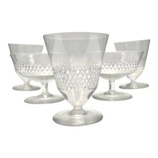 Vintage Mid Century Kosta Boda Signed Oyster & Sherbet Cups- Set of 5 For Sale