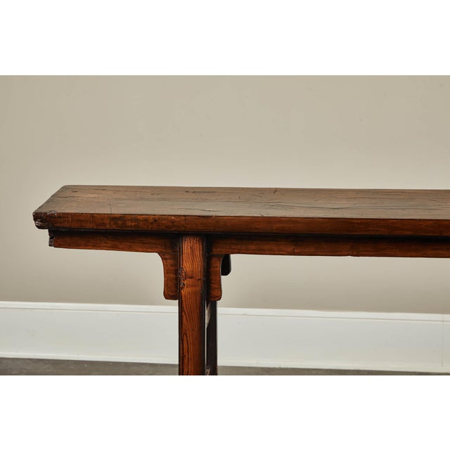 17th Century 17th Century Chinese Elm and Poplar Altar Table For Sale - Image 5 of 9