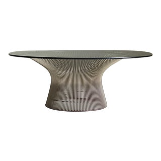 Mid-Century Modern Warren Platner for Knoll Coffee Table For Sale