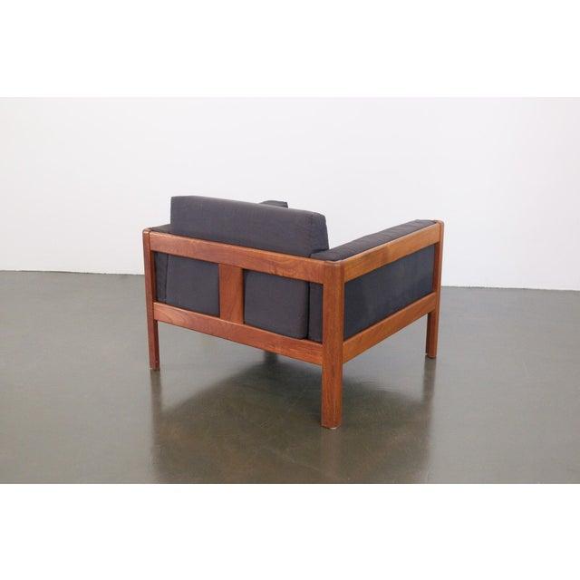 Danish Modern Danish Modern Upholstered Teak Chairs - a Pair For Sale - Image 3 of 10
