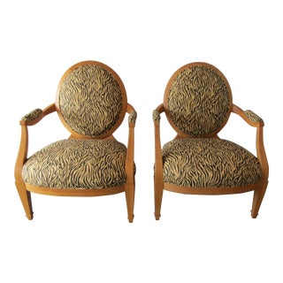 1990s Vintage Donghia Grand Soleil Chairs- A Pair For Sale