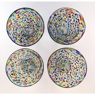 Hand-Blown Mexican Cocktail Glasses - Set of 4 Preview