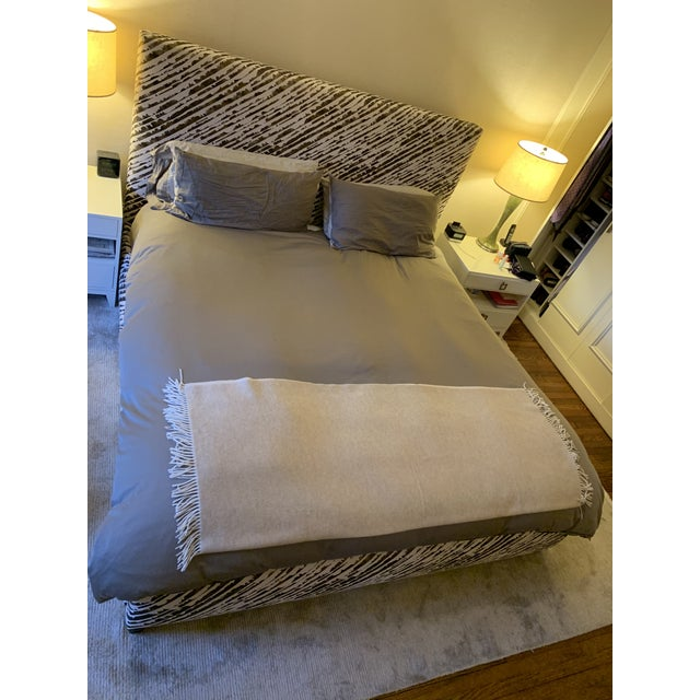 Abc Home & Carpet Bed Upholstered With Donghia Fabric For Sale - Image 12 of 13
