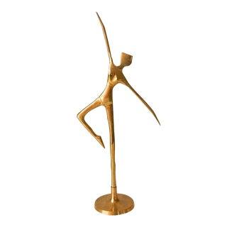 Vintage Brass Ballerina Figure