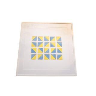 Vintage Visuals Geometric Blocks Photograph For Sale