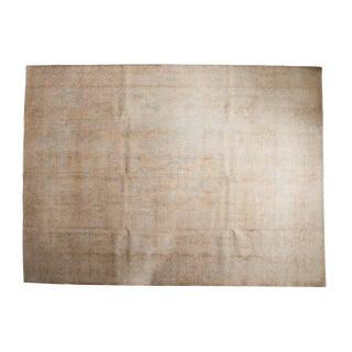 """Vintage Distressed Sivas Carpet - 9'8"""" X 13'2"""" For Sale"""