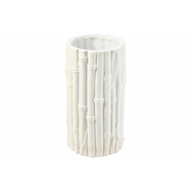 Italian Rosenthal Netter Ivory Bamboo Vase For Sale In Chicago - Image 6 of 6