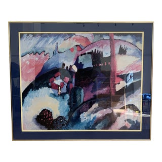 Custom Framed Kandinsky Poster For Sale