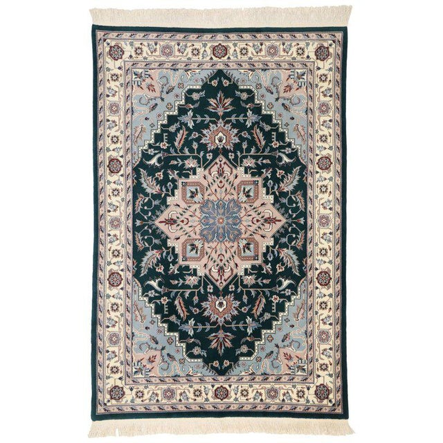 Late 20th Century Persian Style Tabriz Design Rug - 5′9″ × 8′9″ For Sale In Dallas - Image 6 of 6