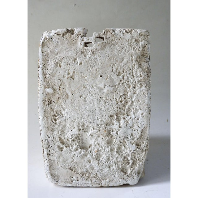 Mid 20th Century Plaster Abstract Sculpture For Sale - Image 5 of 7