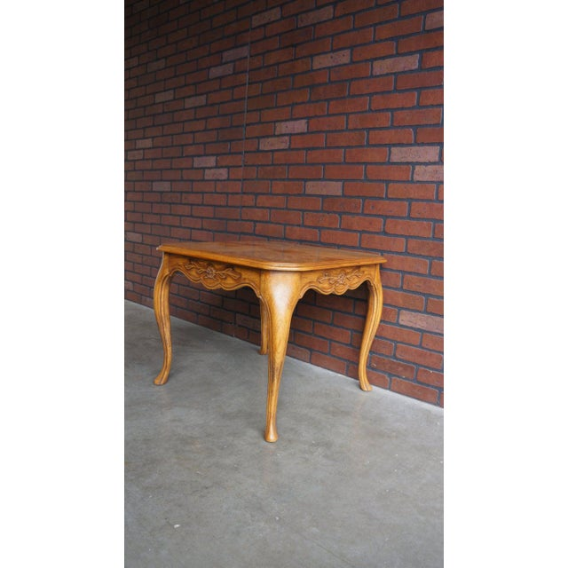 Drexel Heritage 20th Century Country French End Table For Sale - Image 4 of 5