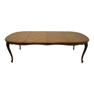 French Country Provincial Century Chardeau Collection Dining Table For Sale