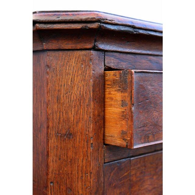 George II Oak Dresser Base or Sideboard For Sale - Image 5 of 9