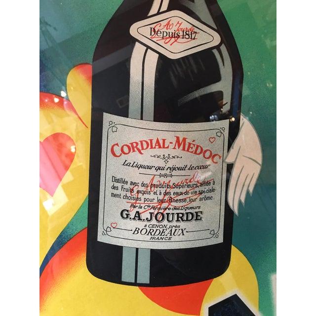 Cordial Medoc La Liqueur Qui Rejouit Le Coeur Lithograph Chairish