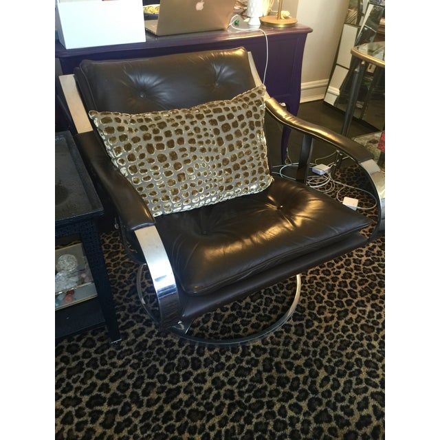 Mid Century Club Chairs, Knoll Style - Pair - Image 5 of 8