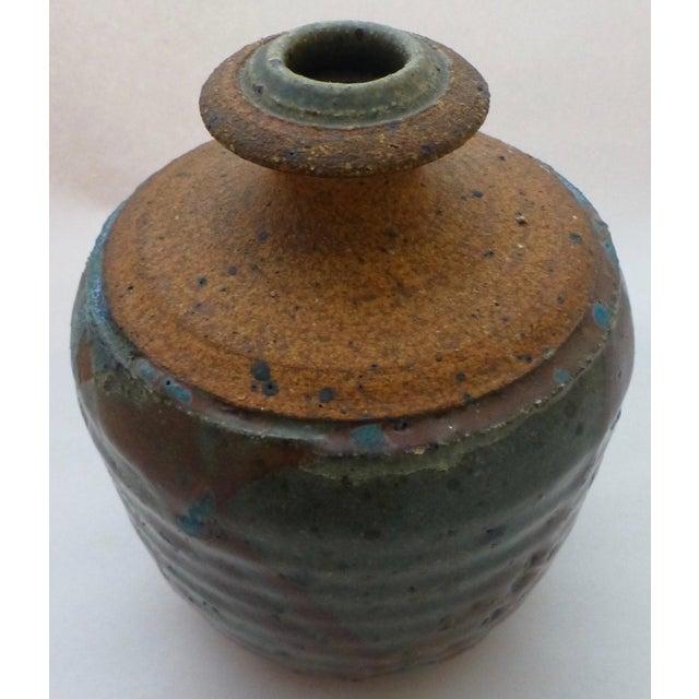 1960s Lyman California Studio Pottery Vase For Sale - Image 5 of 11